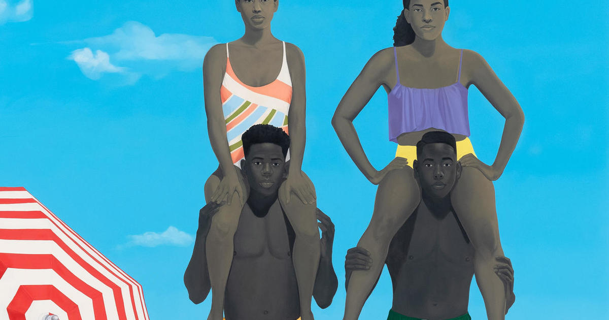 "Amy Sherald's ""everyday people"""