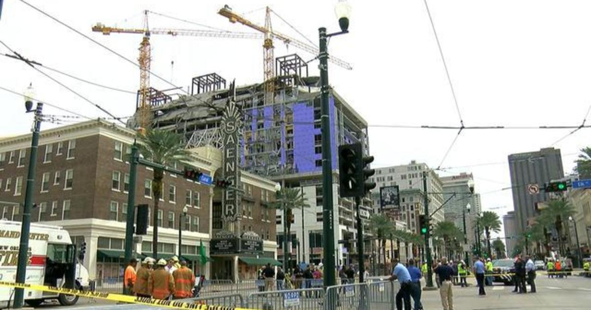 Search continues for worker after Hard Rock Hotel collapse