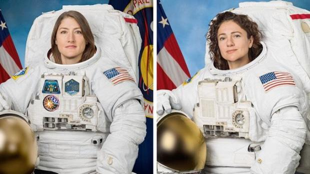 First all-female spacewalk on tap this week to replace failed battery controller