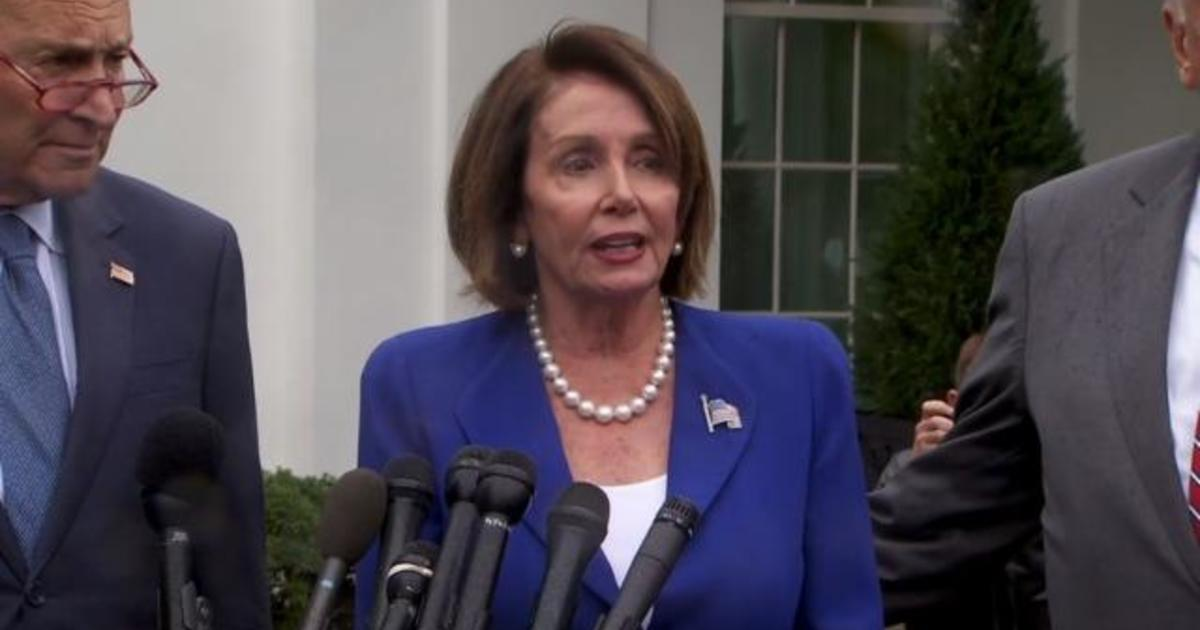 Pelosi Says Trump Had A Meltdown In Meeting With