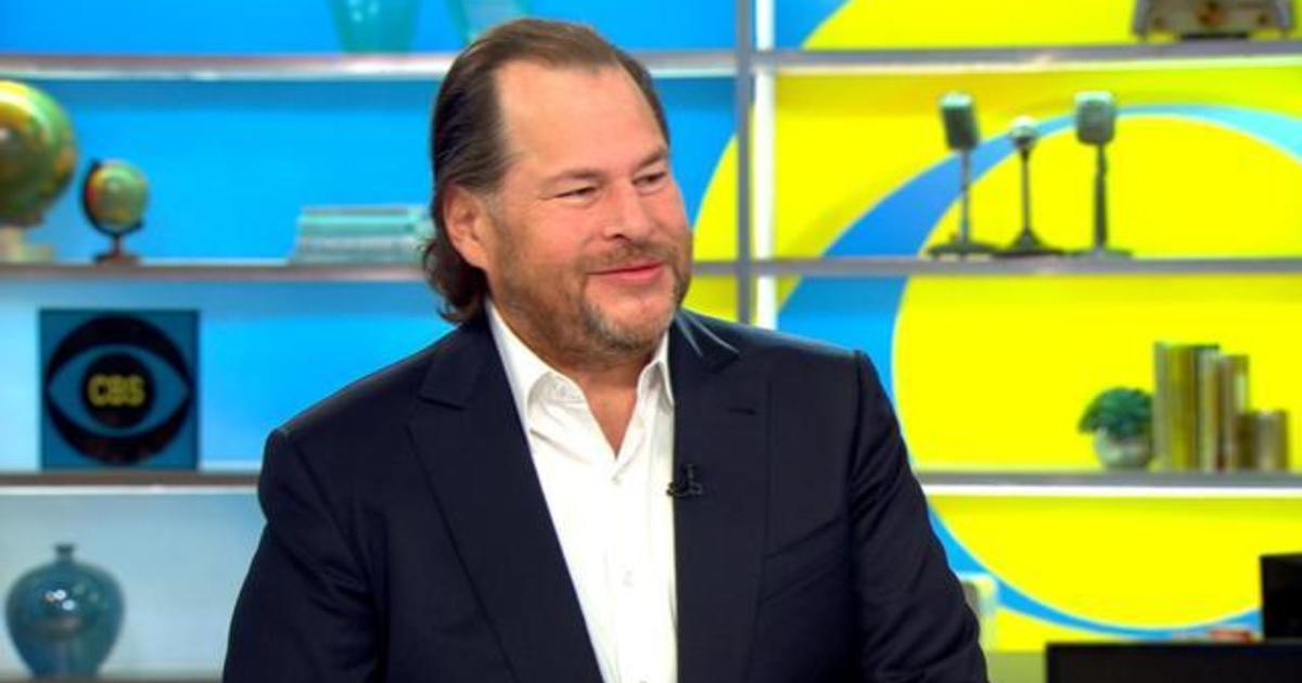 """Marc Benioff on how Salesforce was able to """"do well and do good"""""""