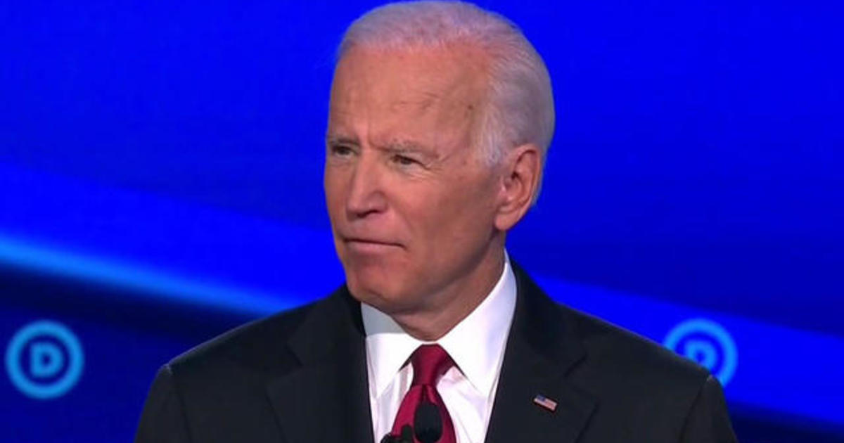 How did Joe Biden handle questions about his son?