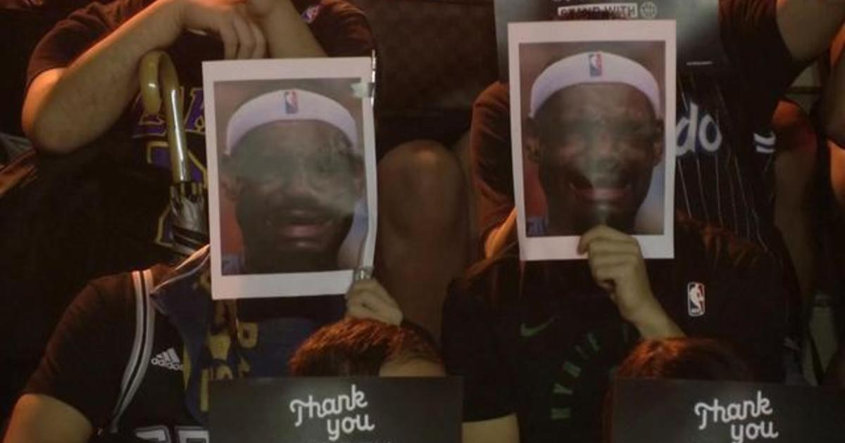 Hong Kong protesters outraged over LeBron's China comments