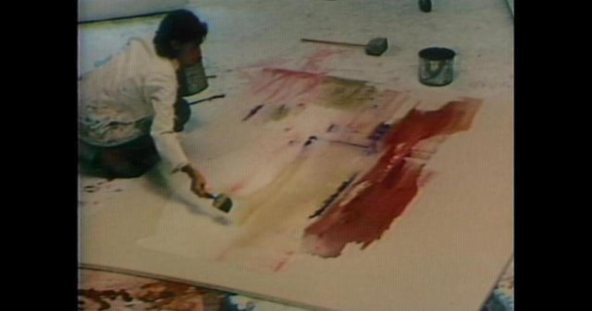 From 1984: Abstract expressionist Helen Frankenthaler