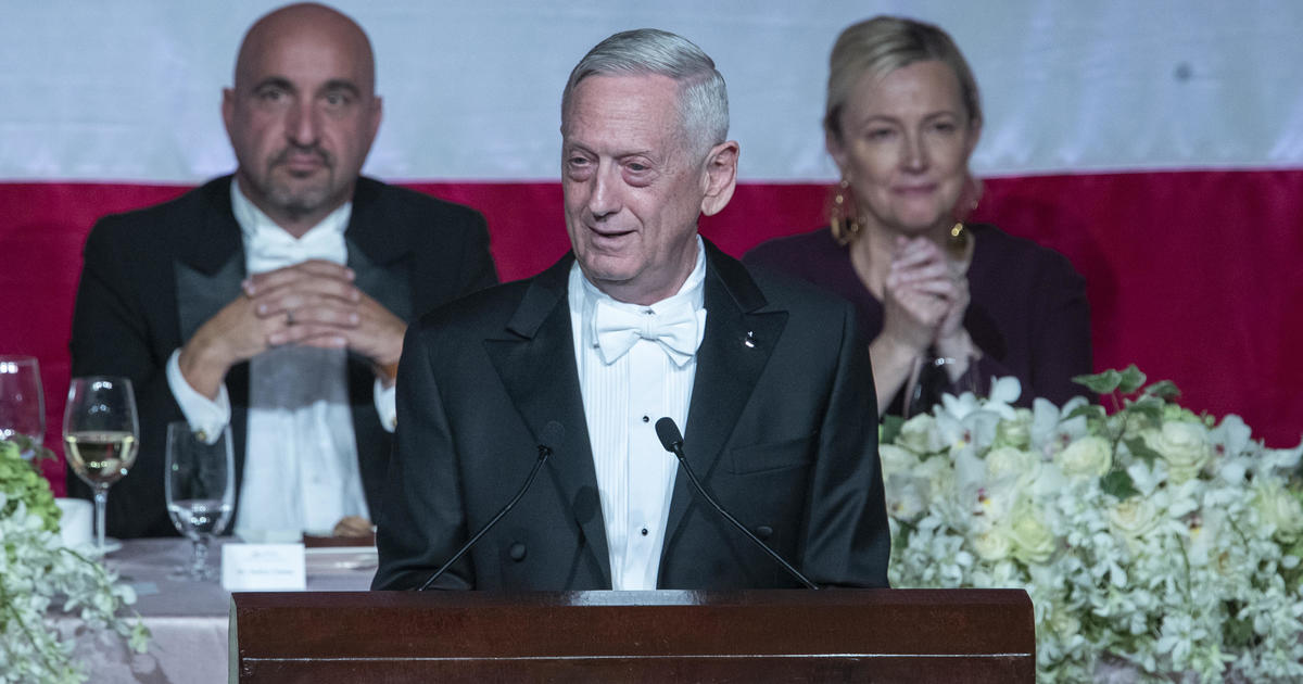 Image result for James Mattis Roasts Trump In Speech, Warns Of 'Ambitious Leader Unfetter By Conscience'