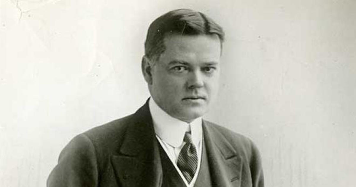 The Herbert Hoover you didn't know