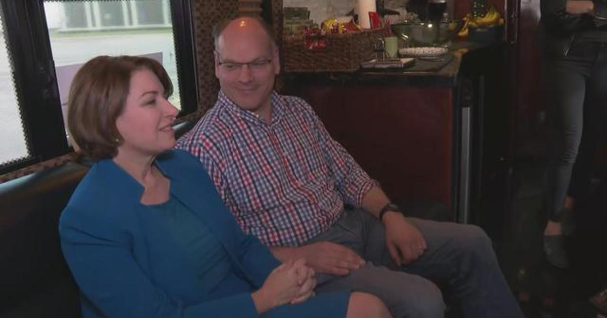 CBSN Exclusive: Amy Klobuchar and husband talk life and the 2020 campaign