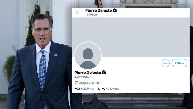 "Meet ""Pierre Delecto"": Mitt Romney has a secret Twitter account for lurking"