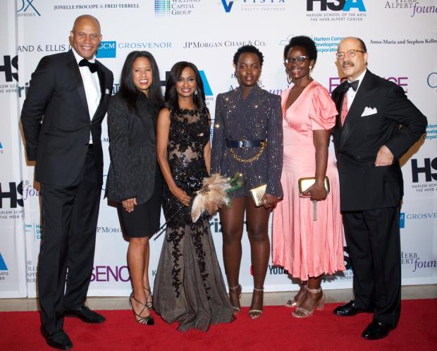 Harlem School of the Arts Mask Ball honors Lupita Nyong'o, raises over $1 million