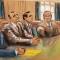Ukrainian-American businessman Lev Parnas and Russian-born businessman Igor Fruman sit with their lawyers