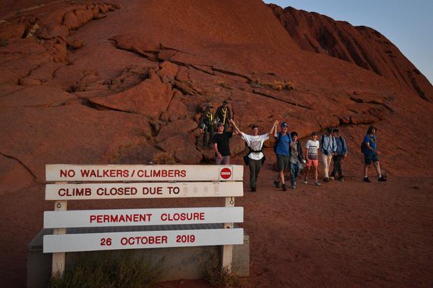 AUSTRALIA-TOURISM-ULURU-INDIGENOUS