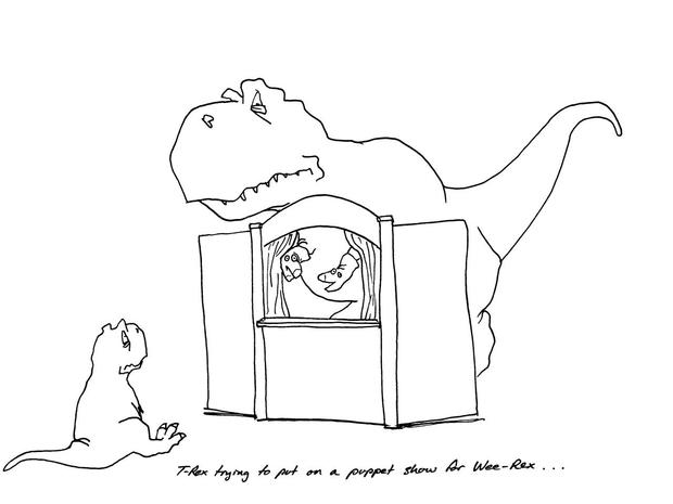 Why it's tough to be a dinosaur