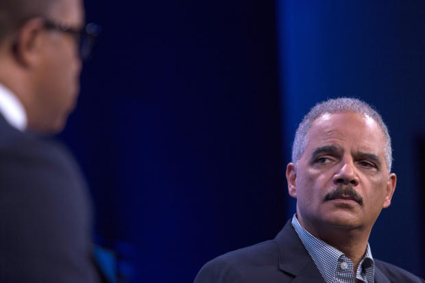 Former Attorney General Eric Holder Discusses Russia Investigation At Washington Post Forum