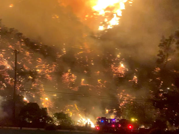 Wildfires rage in California