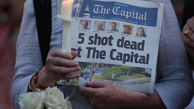 Capital Gazette newspaper shooting