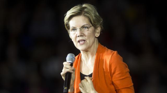 Presidential Candidate Elizabeth Warren Holds Town Hall In Norfolk, VA