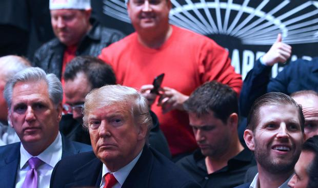 Trump booed at UFC event in New York City