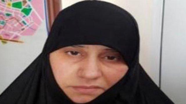 Asma Fawzi Muhammad Al-Qubaysi, wife of slain Islamic State leader Abu Bakr al-Baghdadi