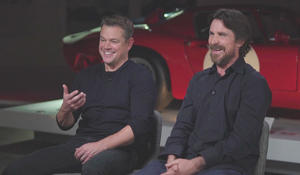 """""""Ford v. Ferrari"""": Matt Damon and Christian Bale on a story of competition and friendship"""