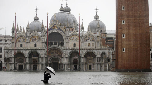 APTOPIX Italy Venice High Tide