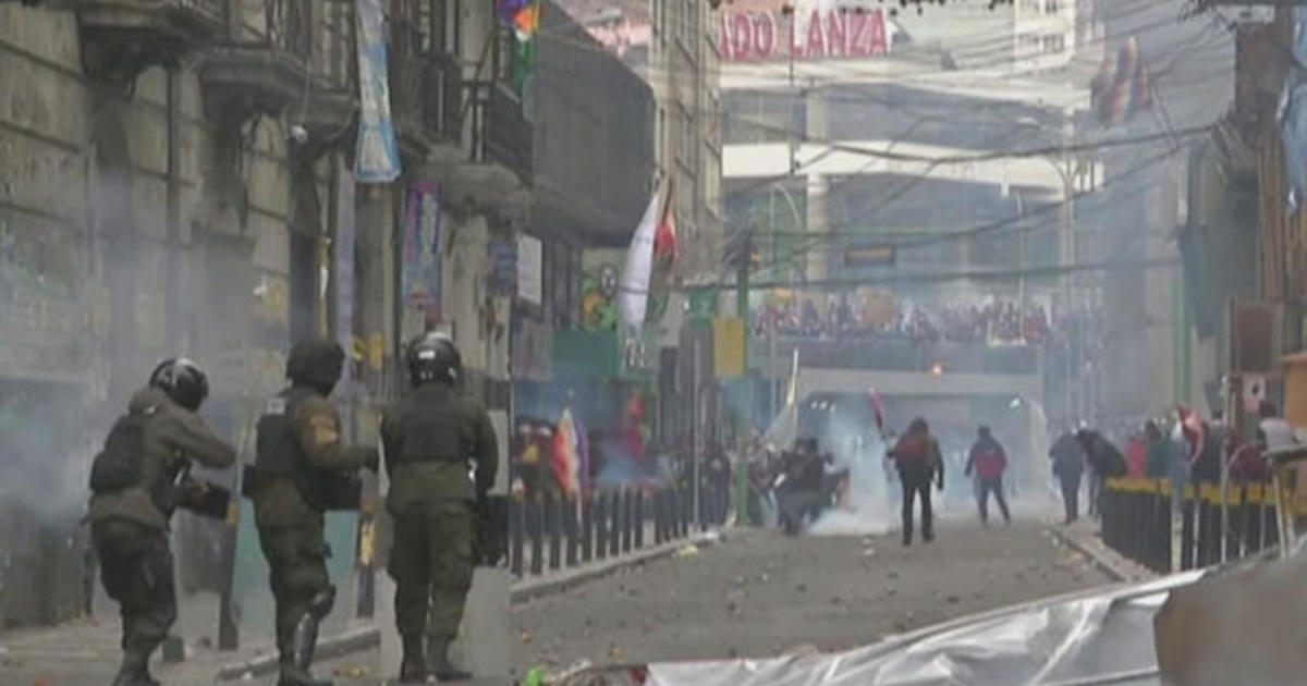 Gaza ceasefire ends two days of fighting; protests in Bolivia reignite