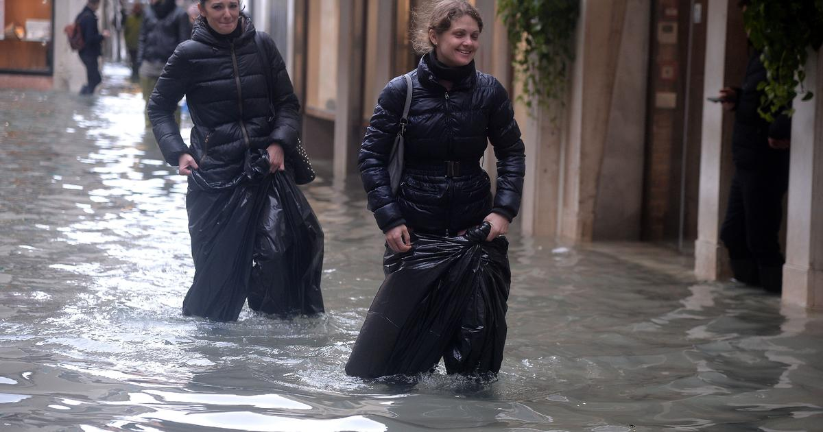 Venice hit by record third exceptional tide in one week