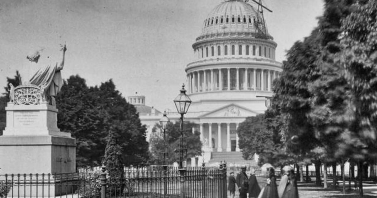 Almanac: The U.S. Capitol building opens
