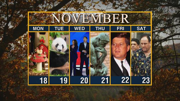 Calendar: Week of November 18
