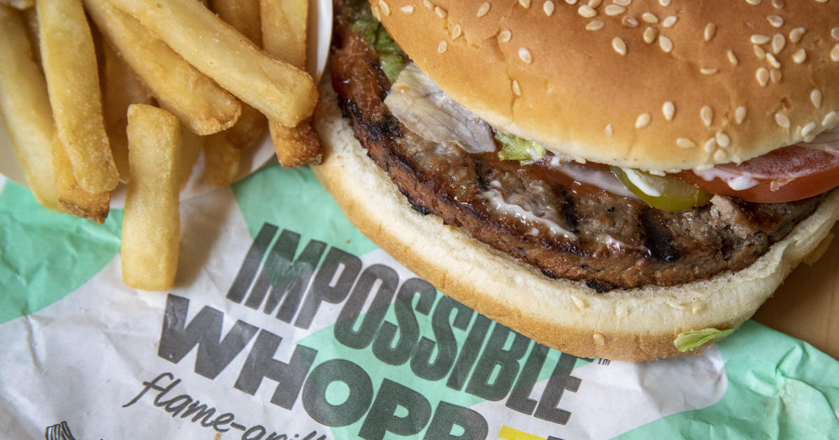 Vegan sues Burger King, claims Impossible Whoppers