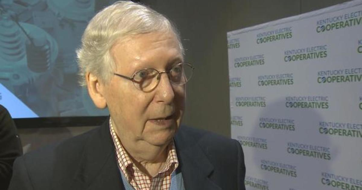 Senate Majority Leader Mitch Mcconnell Thinks Impeachment Trial Will Go Into 2020 Cbs News