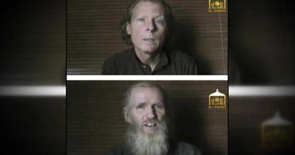 American and Australian hostages released by Taliban after 3 years