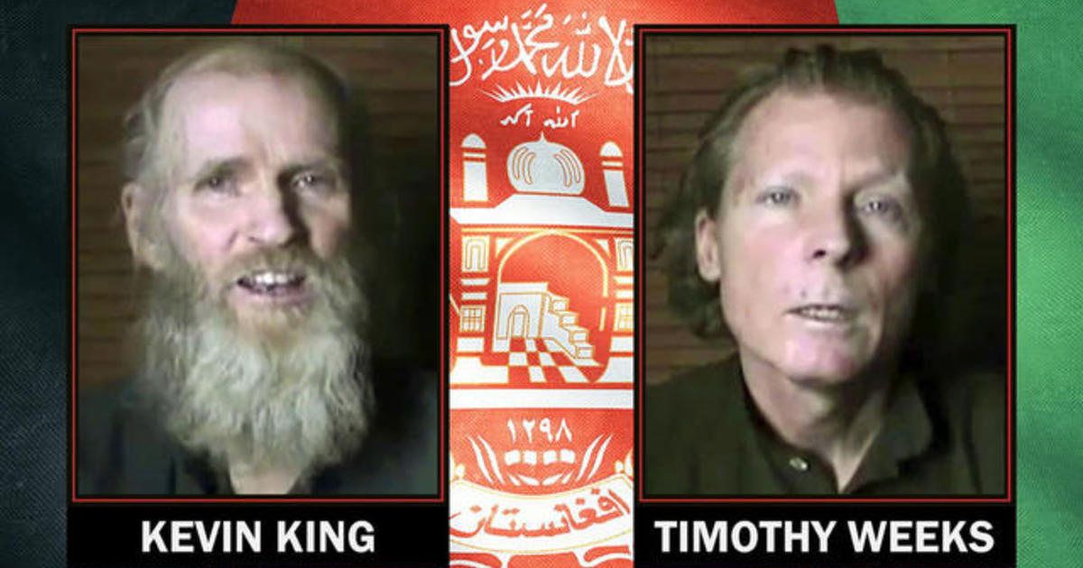 American and Australian freed in prisoner swap with the Taliban