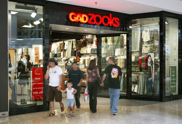 Mall stores that don't exist anymore