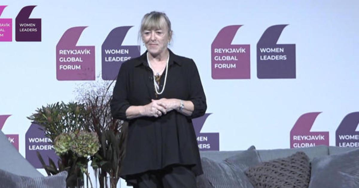 Nobel Peace Prize laureate Jody Williams speaks at 2019 Women Leaders Global Forum