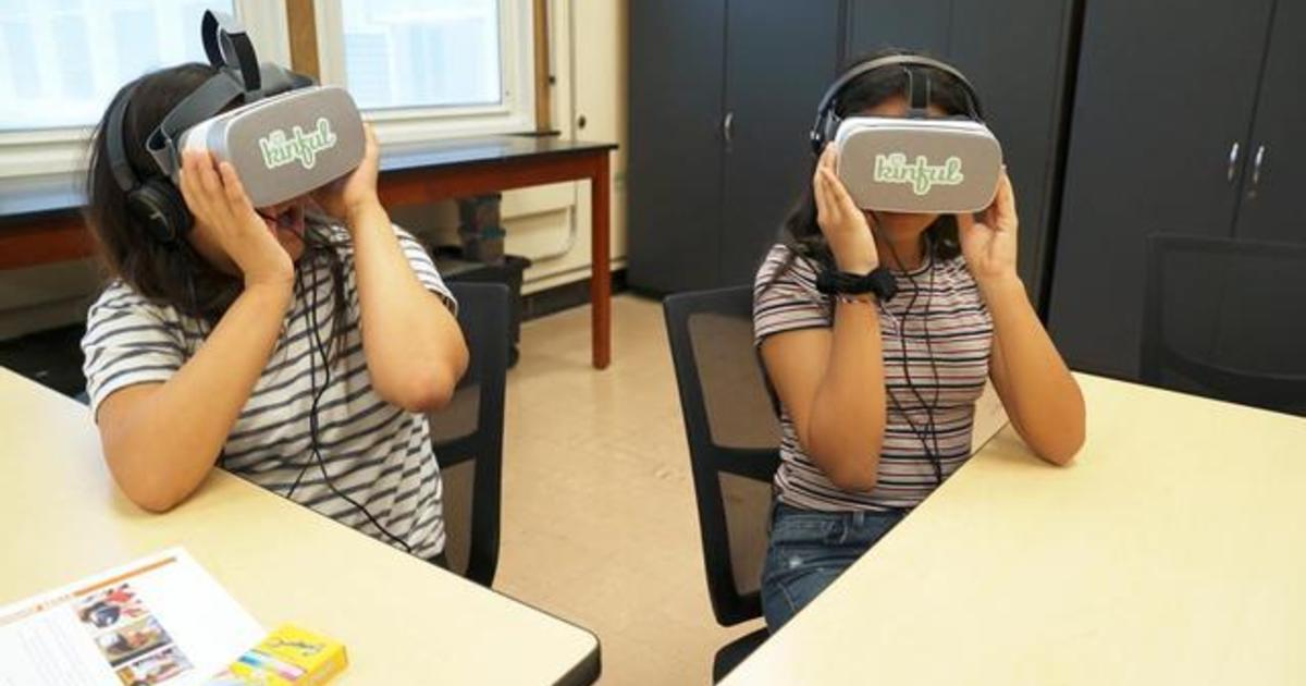 School district uses virtual reality to show students what bullying feels like