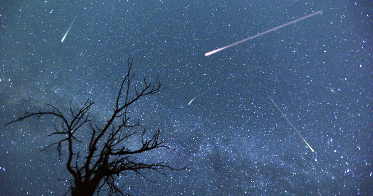 Unicorn meteor shower 2019: Rare meteor outburst will light up the night sky tonight - CBS News