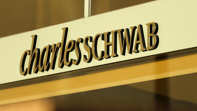 A Charles Schwab office is shown in Los Angeles