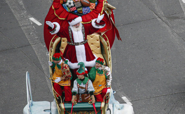 Thanksgiving Day Parade Held In New York