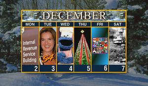 Week of December 2