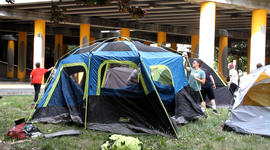 West Coast cities see more unsheltered people
