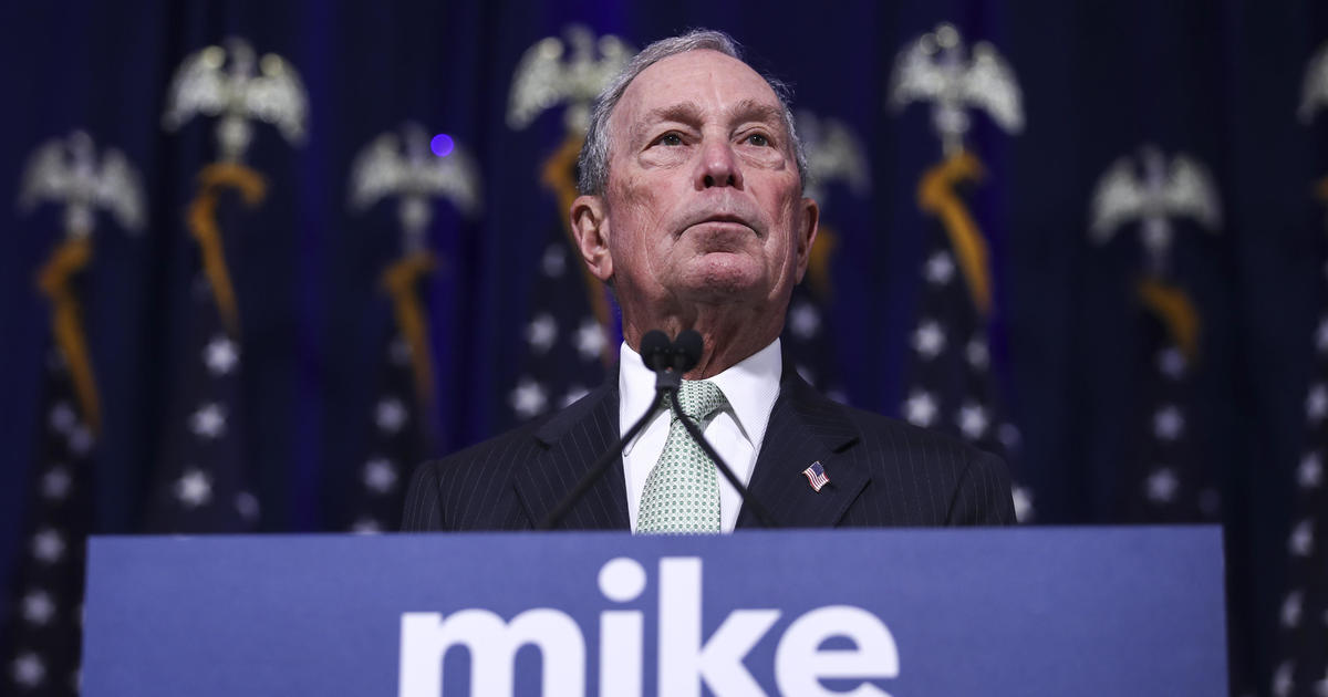 """Mike Bloomberg apologizes for calling Cory Booker """"well spoken"""""""