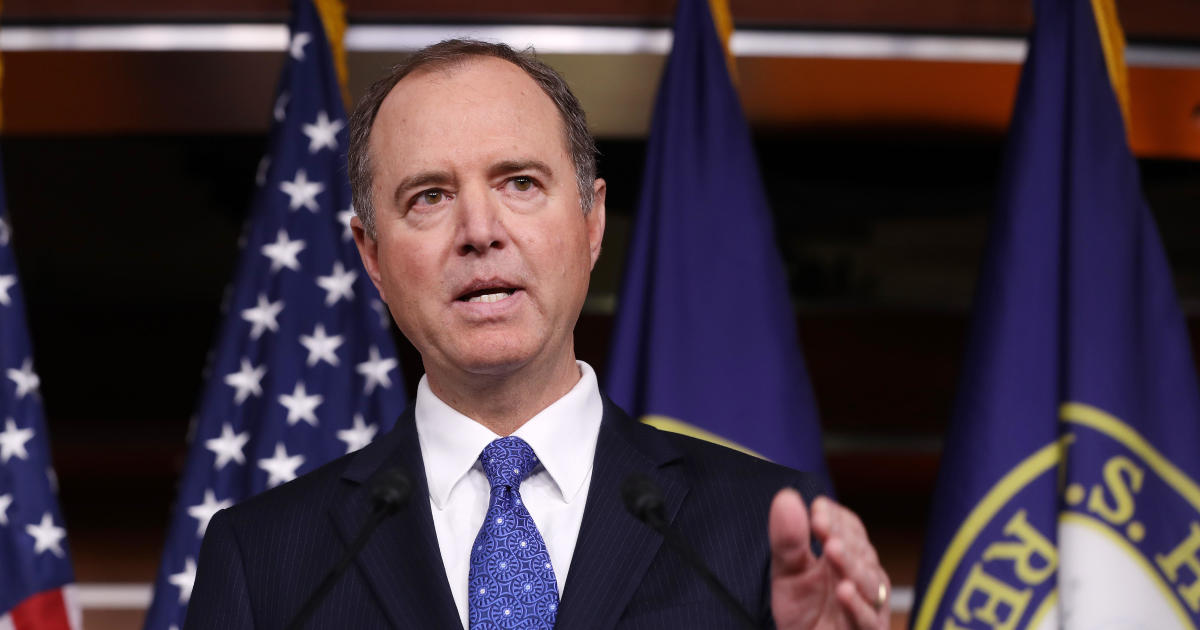 """This week on """"Face the Nation,"""" December 8, 2019: Schiff, Meadows"""