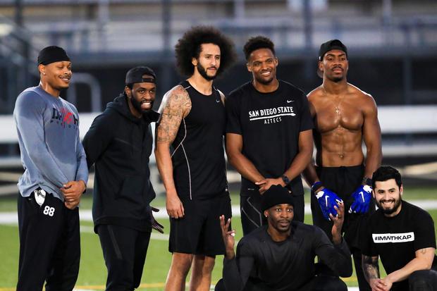 Colin Kaepernick NFL Workout