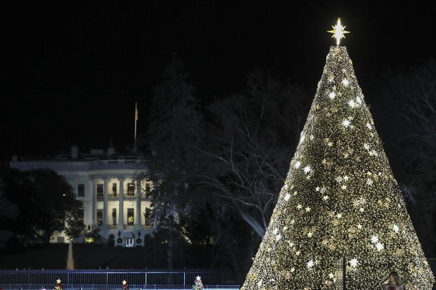 President Trump Participates In 97th Annual National Christmas Tree Lighting Ceremony