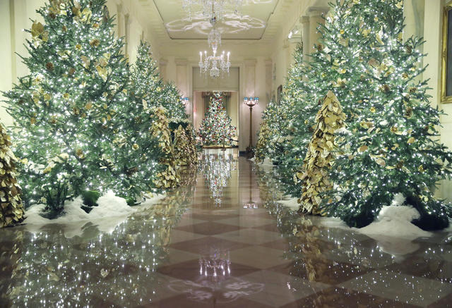 White House Christmas decorations 2019 , photos , Pictures
