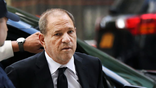 Harvey Weinstein Returns To Court For A Bailing Hearing