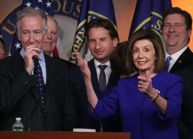 House Speaker Pelosi Holds Press Conference On USMCA Trade Deal