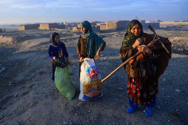 TOPSHOT-AFGHANISTAN-ECONOMY
