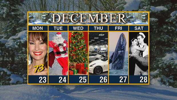 Calendar: Week of December 23