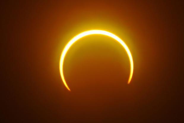 PHILIPPINES-ASTRONOMY-SOLAR-ECLIPSE